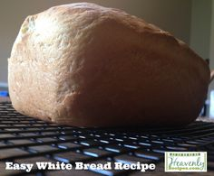This White Bread Recipe is super simple, comes together in just a few minutes and tastes great! Not to mention this White Bread Recipe is GMO and dye-free!