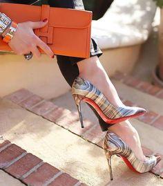 M/&s Femme Bloc Talon Imprimé Animal Mocassins Travail Hiver Smart Chaussures Taille 7.5 EU41