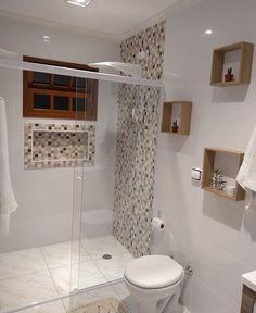 Trendy Home Plans Simple Bathroom Ideas Bathroom Design Small, Simple Bathroom, Modern Bathroom, Shower Bathroom, Bathroom Ideas, Master Bathroom, Vanity Bathroom, Remodel Bathroom, Bathroom Toilets