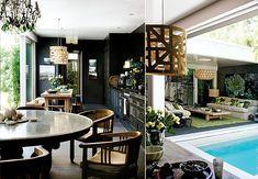 Reprodução Dream Home Design, My Dream Home, House Design, Hippie House, Casa Loft, Casa Patio, Concrete Houses, Small Pools, Courtyard House
