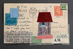 Postcard : A Good Holiday  18cm x 12 cm - £80