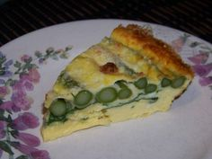 Crustless Asparagus Quiche | Low Carb Yum | LCHF Keto Egg Recipe