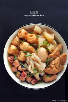 A winter stew or hot pot is a common theme across Asian countries during colder seasons. In Japan, one of the most popular winter stew is probably oden. As with all kind of hot pots or winter stew, there is no set rules on what goes into the stew, though …