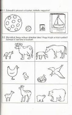 Számolj te is k Kindergarten, Album, Comics, Words, 1st Grades, Kindergartens, Cartoons, Preschool, Comic