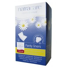 Absorvente diário orgânico Natracare Normal com 18 absorventes- Lohas Store