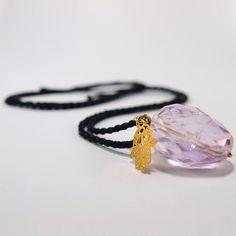 Items similar to Amethyst Hamsa Necklace on Etsy Hamsa Necklace, Pendant Necklace, Necklaces, Bracelets, Amethyst, Pendants, Stone, Silver, Gold