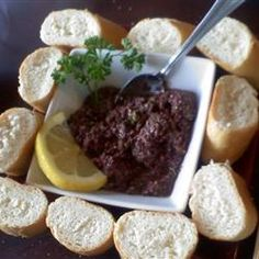 how to make kalamata olive tapenade