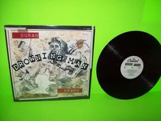 "Duran Duran – Drowning Man 1993 12"" Vinyl EP Record Electronic SynthPop NM Nice #AlternativeRock1990sDancePopElectroSynthPopRock"