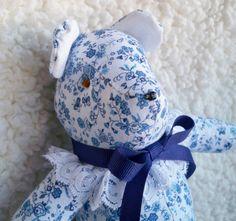 Corrie the Little Teddy Bear by ellemardesigns on Etsy, $10.00