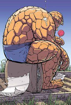 The Thing // Scott Kolins ®.