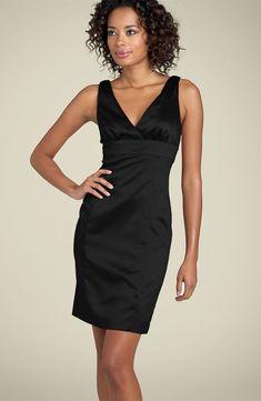 Nicole Miller Matte Jersey Square Neck Dress Little Black Dress Lbd Dress, Tulle Dress, Satin Dresses, Day Dresses, Dress Skirt, Evening Dresses, Casual Dresses, Formal Dresses, Classic Wardrobe