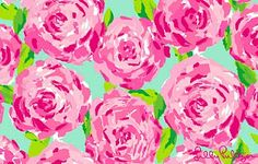 """This is my favorite print ever by Lilly Pulitzer I never tire of it. """"First Impressions"""" 2011 Lilly Pulitzer Cute Wallpapers, Wallpaper Backgrounds, Desktop Wallpapers, Iphone Backgrounds, Rose Wallpaper, Floral Wallpapers, Wallpaper Ideas, Desktop Pics, Wallpapers Tumblr"""