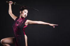 China Girl - Model: Elena Hu MUA: Valentina Svelti