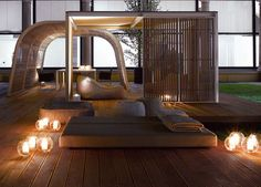 Cabane De Jardin De Design Italien De Luxe Par Paola Lenti | Deco ... Cabanne Gartenpavillon Paola Lenti Bestetti Associati