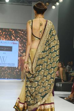 Saree by:Shymal&Bhumika