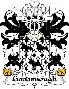 Goodenough Family Crest apparel, Goodenough Coat of Arms gifts
