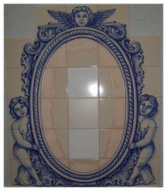 Portuguese, Tiles, Club, Mirror, Gallery, Home Decor, Art, Room Tiles, Art Background