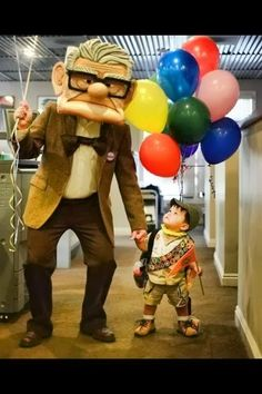 a Mason says what?: Carl Fredricksen from Up movie - Halloween Costume and How To
