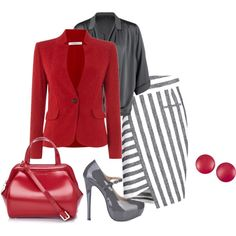 hard day at work by bsimon-1 on Polyvore featuring Repeat, Marella, Altuzarra, Lulu Guinness and Charles Jourdan