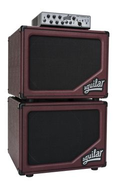 """Aguilar's SL 112 in """"Bass Cabernet"""" Limited Edition for 2015 - 2 gorgeous not 2 buy"""