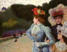 Frederico Zandomeneghi - Promenade, 1890