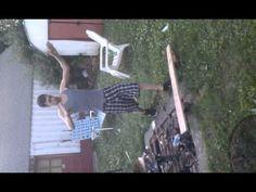 karate wood breaking fail . He over-dramatized it