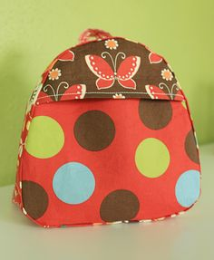small children's backpack...with link to tutorial and pattern.