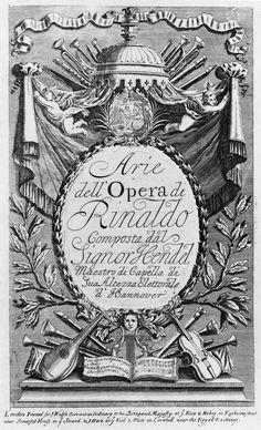 Rinaldo (créé en 1711 au Queen's theatre de Londres) - Georg Friedrich Haendel (1685-1759)