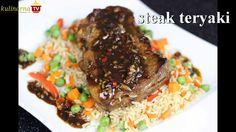 Jak przygotować Stek w marynacie Teriyaki?  - Bardzo aromatyczny stek przygotowany na Video w sposób japoński. Jego aromat podkreśla słodycz wina mirin oraz dodatek papryczek chili. Gdyby wam przypadkiem zasmakowało zostawcie mam komentarz :)