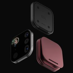 called mosaic, industrial designer louis berger conceptualizes a modular camera device for smartphones like the apple iphone. Photo Tiles, Photo Mosaic, Camera Gear, Iphone Camera, Leica Camera, Nikon Dslr, Film Camera