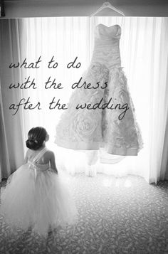 what to do with your wedding dress after the big day