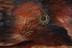 Lotus Flower small  ear jewelry