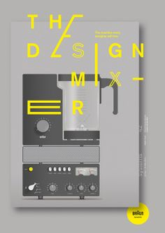 An international group of graphic designers respond to the systematicity of Braun Design. Systems is an exhibition of commissioned poster de...