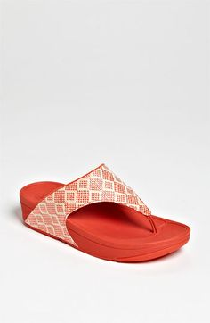 FitFlop 'Palma' Sandal. For us girls who like heels but have bad backs.