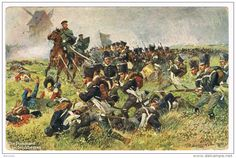 Pomeranian Infantry at the Battle of Grossbeeren (23 August 1813), by Anton Hoffmann. There an allied Prussian-Swedish army under Crown Prince Charles John – formerly Marshal of France Jean-Baptiste Bernadotte – defeated the French under Marshal Oudinot.