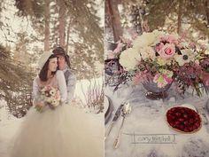 "Winter ""outside of the traditional wedding box"" inspiration Wedding Shoot, Wedding Themes, Dream Wedding, Wedding Decorations, Wedding Ideas, Floral Wedding, Wedding Bouquets, Boho Deco, Winter Centerpieces"