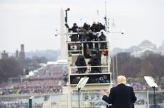 Whose inauguration is that on Donald Trump's Twitter background? It's from Obama's inauguration...Geeze Louise....