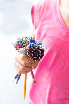 Diy duct tape flower pens flower pens duct tape and tutorials diy duct tape flower pens mightylinksfo