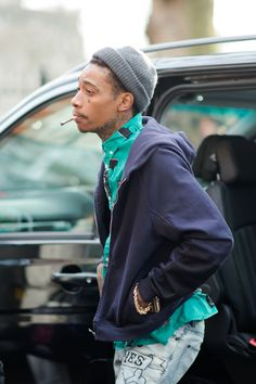 Best Incognito Wiz Khalifa at London Men's Fashion Week — Men's Street Style