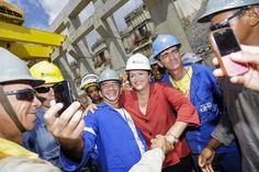 Dilma já fez mais pelo setor energético do que FHC em oito anos - Notícias - R7 Eleições 2014