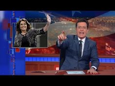 Watch Stephen Colbert hilariously skewer Sarah Palin's endorsement of Donald Trump I Have Missed You, Intelligence Is Sexy, Speaking In Tongues, John Oliver, Sarah Palin, The Daily Show, Stephen Colbert, Political Satire, Material Girls