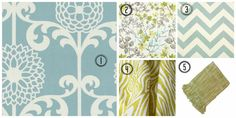 How-to Tie Together Your Room With Fabric: Inspiration for Mixing Pattern and Colour in Andrea's Bedroom