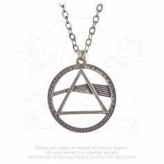 Pink Floyd: Dark Side, prism Pendant by Alchemy Gothic Pink Floyd Dark Side, Alchemy, Prism Color, Gothic Rock, Album Design, Gothic Girls, Band, Punk Fashion, Cool Things To Buy