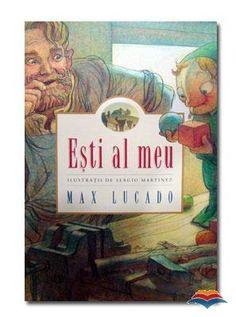 """Esti al meu - Max Lucado; Varsta: 3+; Mingi fistichii. Cutii colorate. Erau ultima moda in oraselul Wemmik! Toti omuletii din lemn le aveau, cu exceptia lui Pancinello. Dorind sa semene cu ceilalti, se hotari sa faca ce faceau ei, oricare ar fi fost pretul.  Insa, niciodata nu si-a inchipuit ca avea sa-l coste asa scump. Dar Eli, creatorul lui, s-a folosit de acel moment ca sa-i aduca aminte lui Pancinello de acest adevar: """" esti pretios nu datorita lucrurilor pe care le ai."""""""