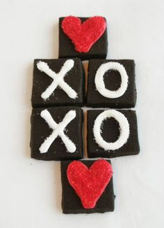 Bake at 350: Last-minute Valentine Cookies (same recipe for the cookie part of homemade oreos)