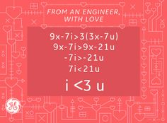 Love from an engineer