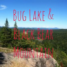I joined mom and dad for a short weekend trip as they camped at 8th Lake.  Because I'm a lover of hiking, we decided to take a short hike to Bug Lake. The trail head leaves right from the cam…