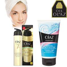 Oil of Olaz schoonheidsbundel met Facewash 150ml en SPF 15 Dagcrème 50ml! Van € 34,95 voor € 9,95