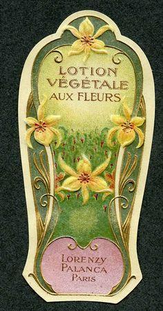 LOTION VEGETALE Vintage Paris, France Perfume Label, French Lotion, Skin Care Cream, Vintage Paris, Vintage Perfume, Bottle Labels, Perfume Bottles, Paris France, Homemade, French