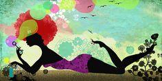 my summer feeling illustration @ Elisandra